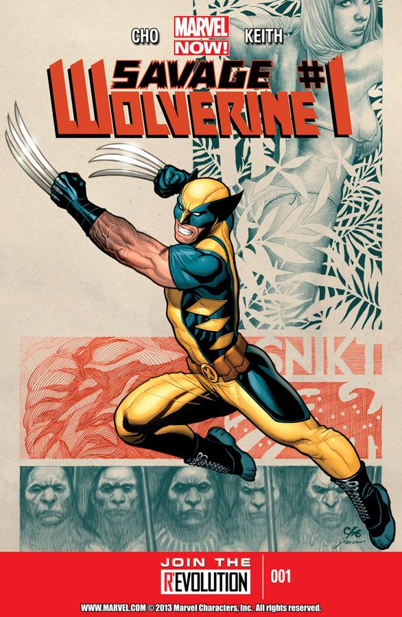 Savage Wolverine 01-000