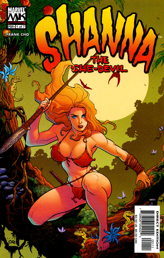 Shanna The She-Devil 1 (of 7) (2005) (MarvelBabes-DCP) 00