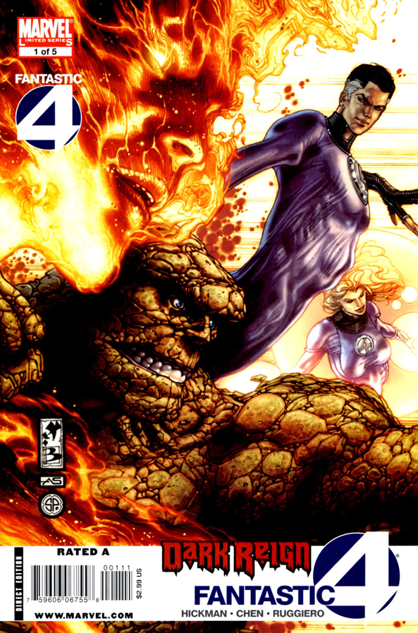 Dark Reign - Fantastic Four #1 001