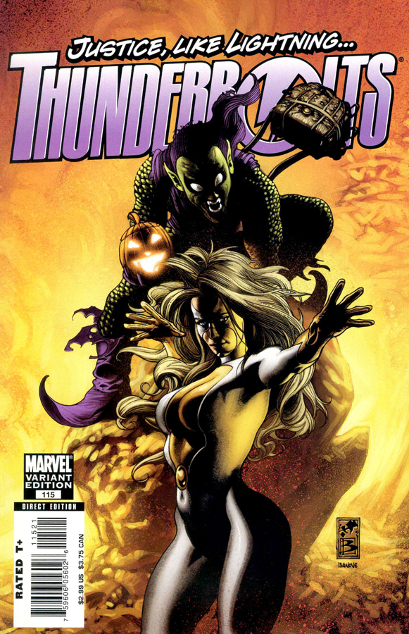 thunderbolts115-01a Variant Cover (Steam)