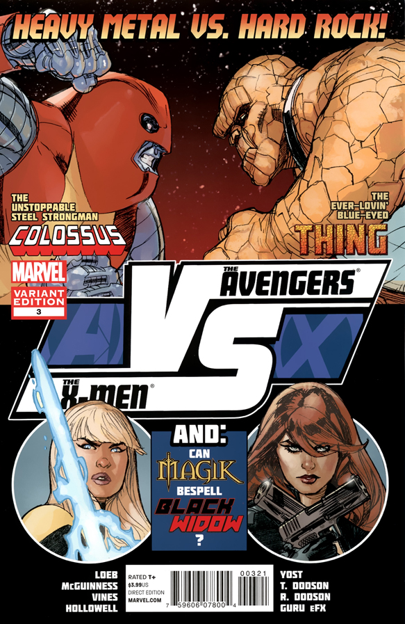 AVX_VS_3_0001b (2012) (Terry Dodson Variant) ScanDog