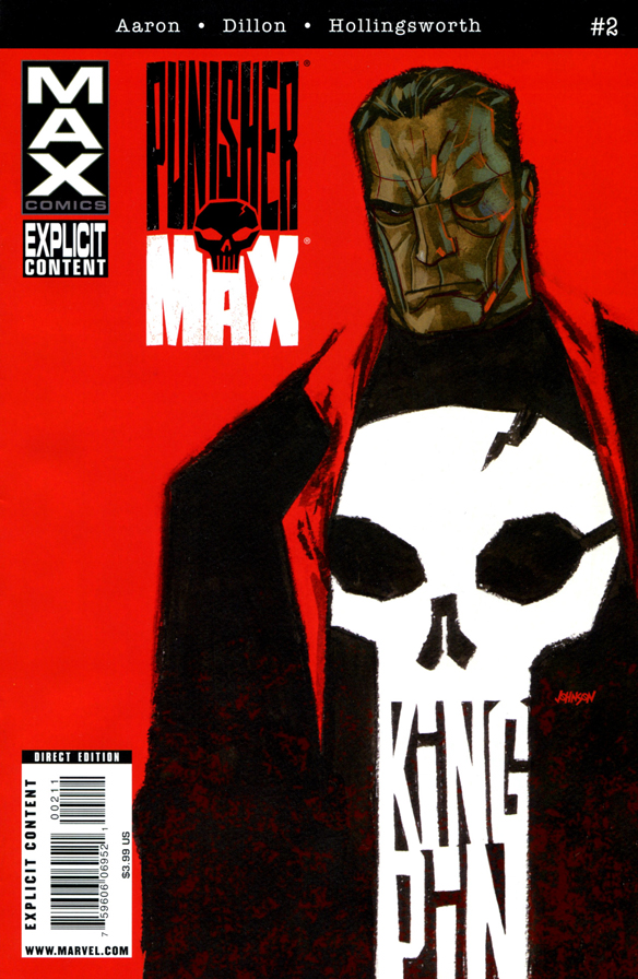 Punisher Max #2 001