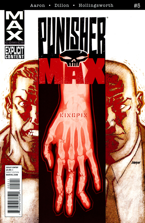 Punisher Max #5 001