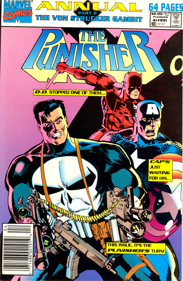 PUNISHER-ANNUAL91