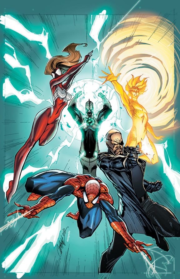 J._Scott_Campbell_-_Ultimate_Comics_Mystery_1