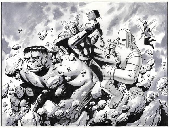 Powell - The Avengers