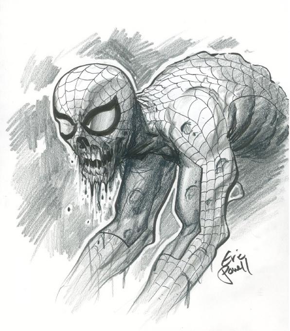 Zombie Spidey - Eric P