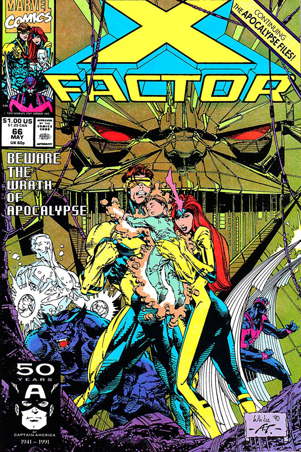 X-Factor #066 Cover
