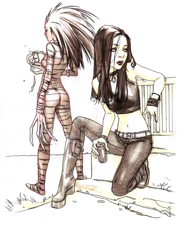 Alina Urusov X-23 and Hollow