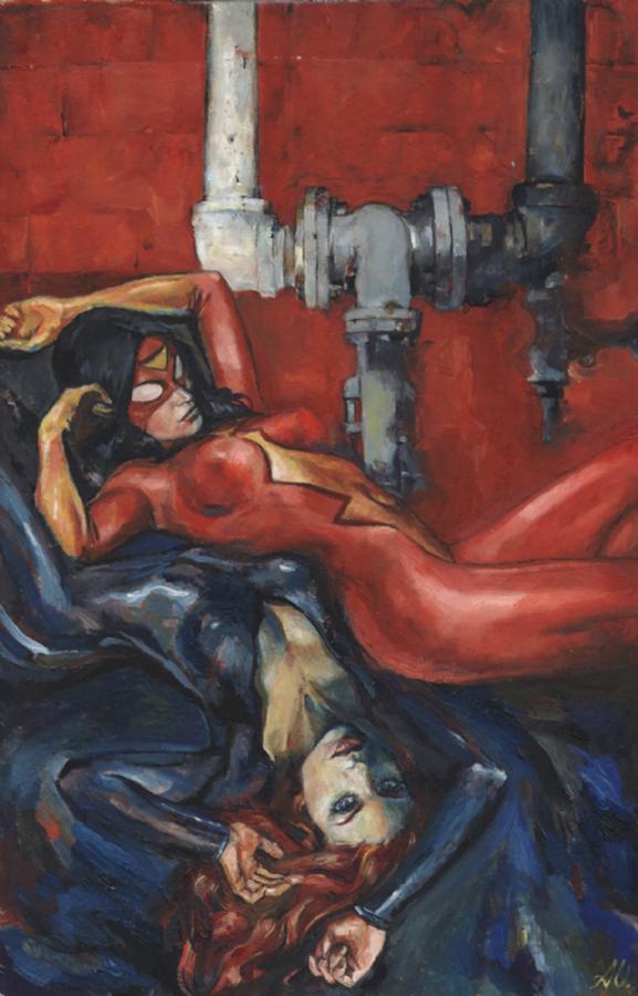Spider Woman & Black Widow Urusov