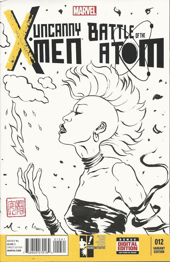 Xmen Sketch cover